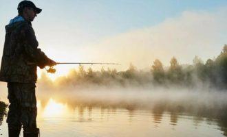 рыбалка на водоеме